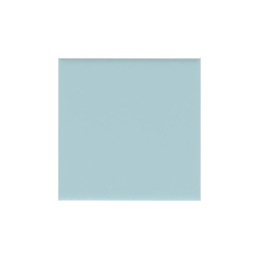 American Olean Matte Glacier Matte Ceramic Bullnose Tile (Common: 6-in x 6-in; Actual: 6-in x 6-in)