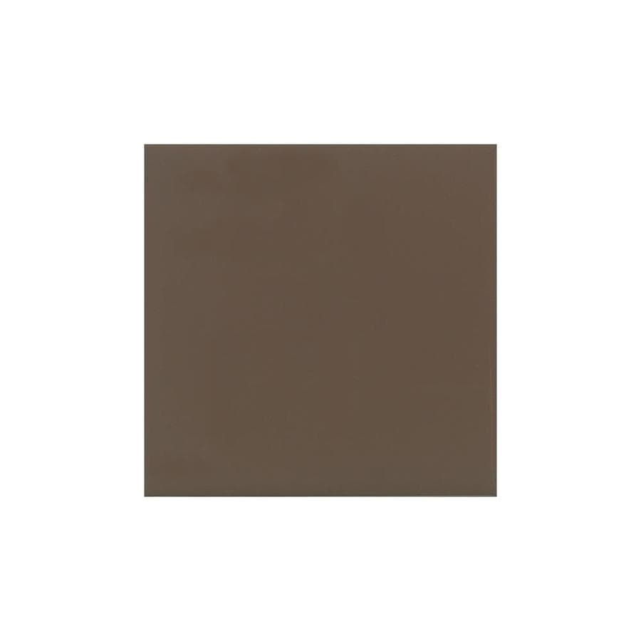 American Olean Bright Nutmeg Gloss Ceramic Bullnose Tile (Common: 6-in x 6-in; Actual: 6-in x 6-in)