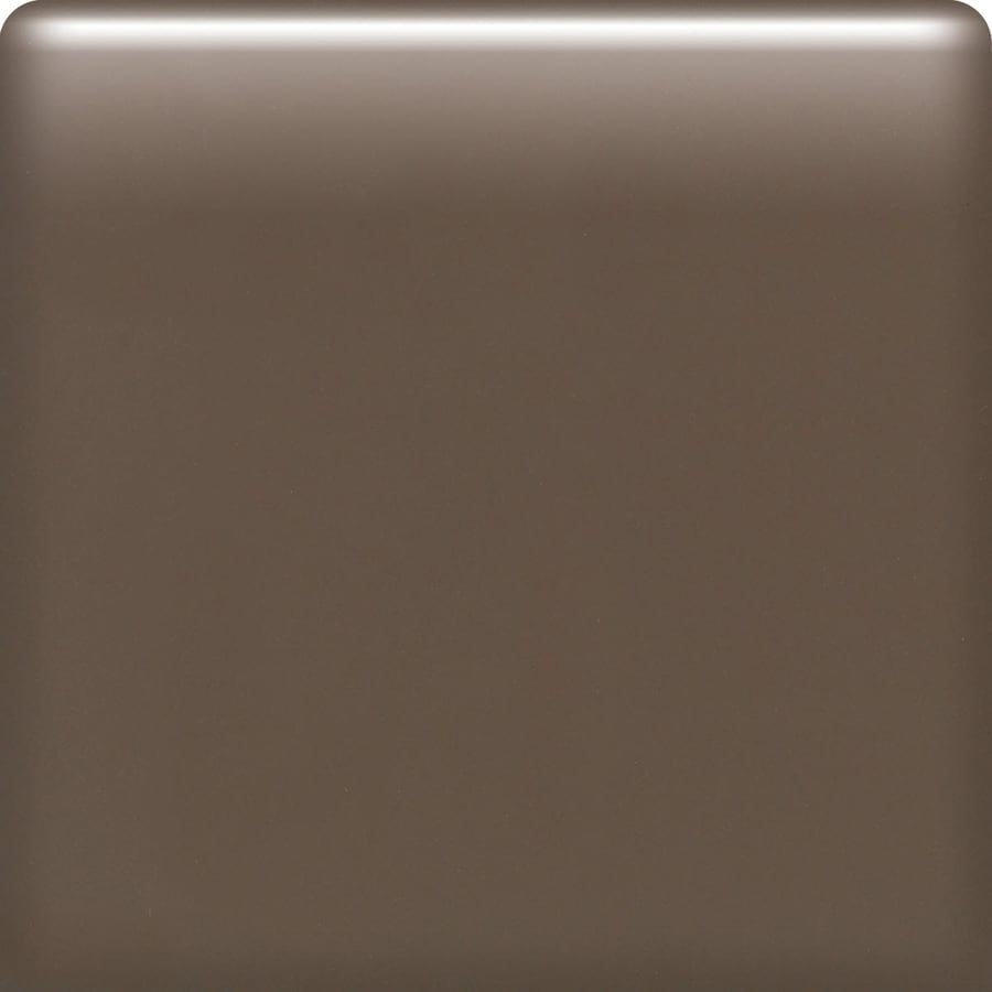 American Olean Matte Nutmeg Ceramic Bullnose Tile (Common: 6-in x 6-in; Actual: 6-in x 6-in)