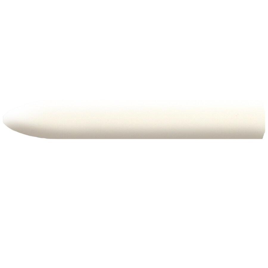 American Olean Bright Biscuit Ceramic Quarter Round Tile (Common: 1-in x 6-in; Actual: 1-in x 6-in)