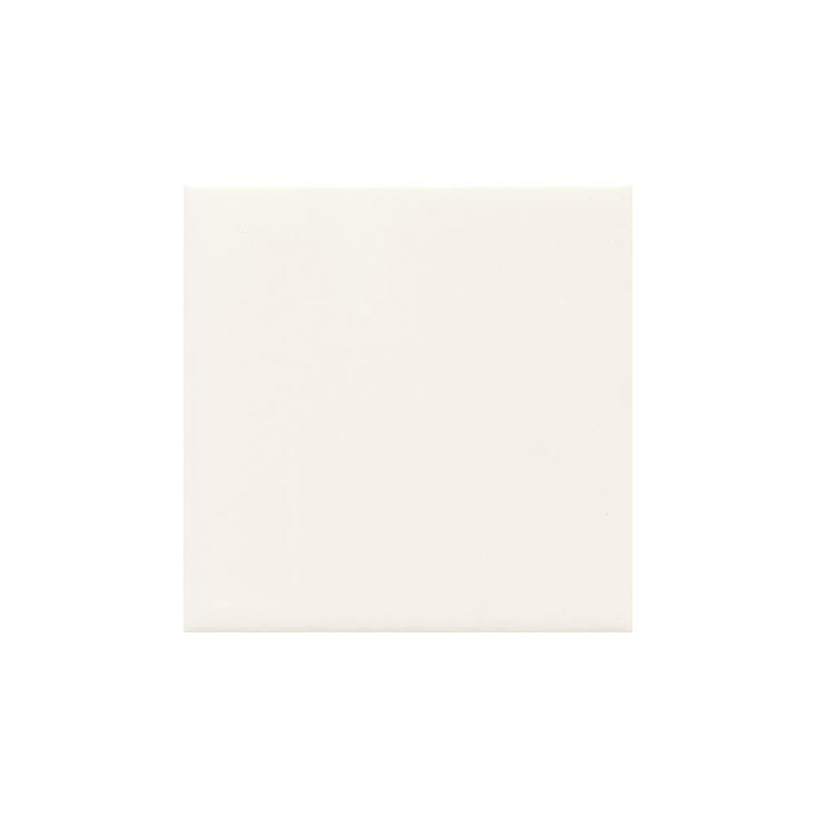 American Olean Bright White Gloss Ceramic Cove Base Tile (Common: 4-in x 4-in; Actual: 4.25-in x 4.25-in)
