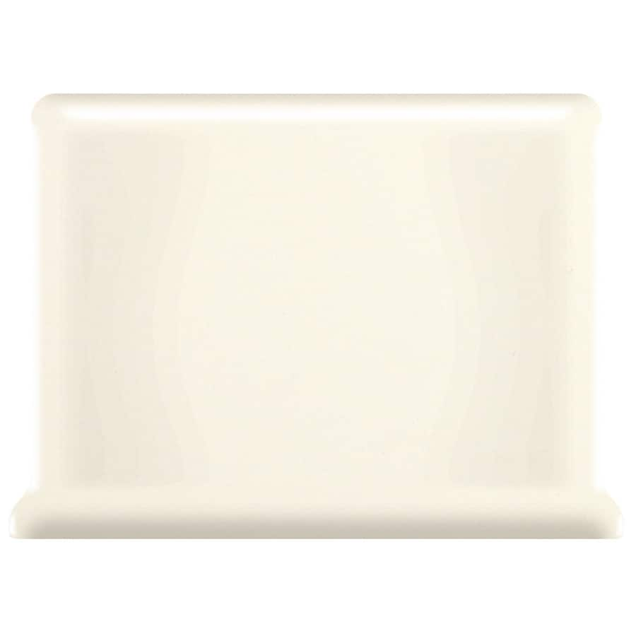 American Olean Bright Biscuit Ceramic Cove Base Tile