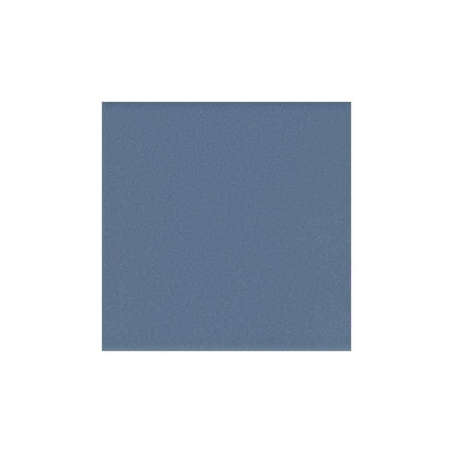 American Olean Bright Summer Rain Gloss Ceramic Bullnose Tile (Common: 6-in x 6-in; Actual: 6-in x 6-in)