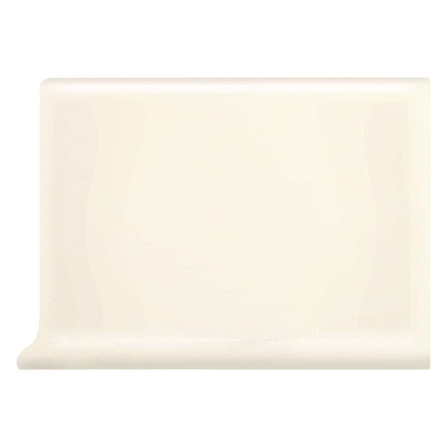 Shop American Olean Bright Biscuit Ceramic Cove Base Tile