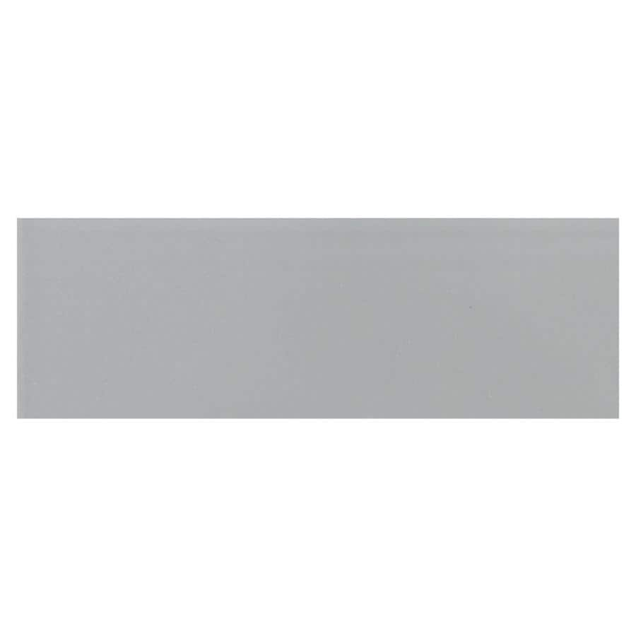 American Olean Urban Canvas 28-Pack Matte Light Smoke Ceramic Wall Tile (Common: 4-in x 12-in; Actual: 4.25-in x 12.75-in)