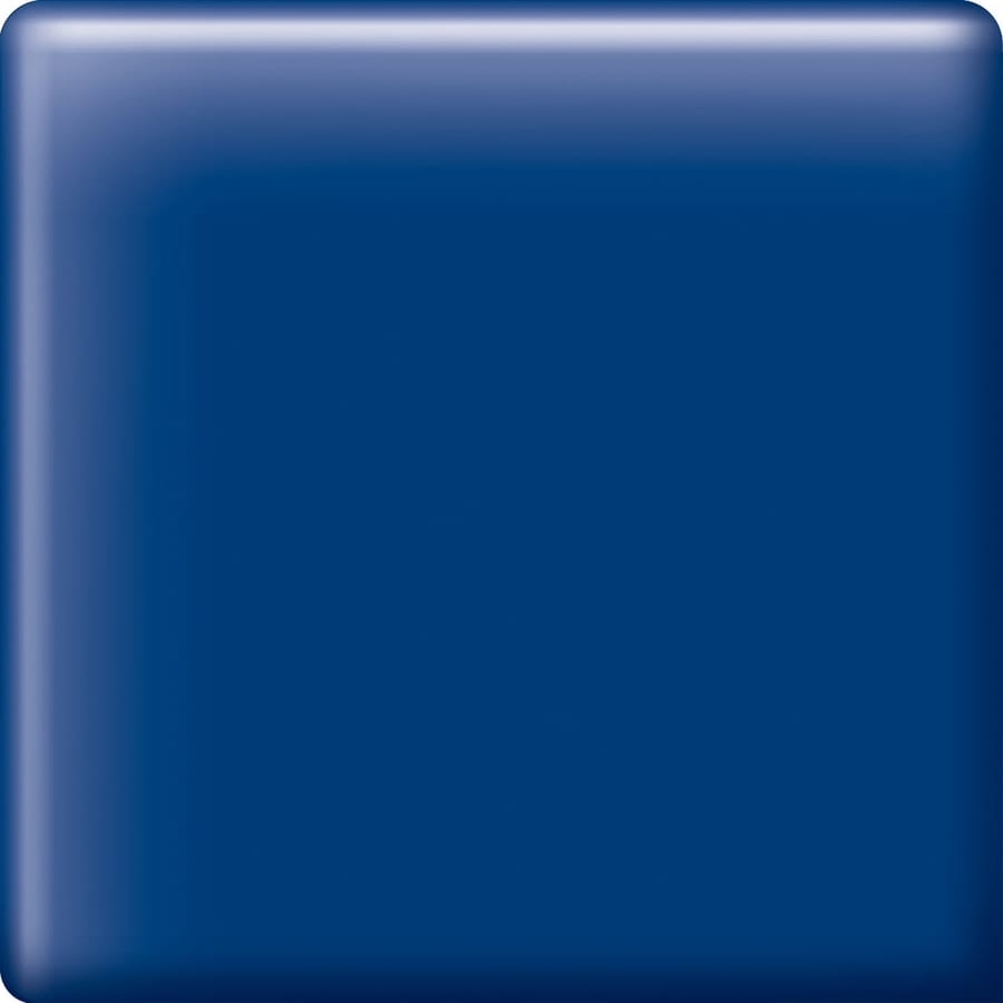 American Olean Bright Sapphire Sky Ceramic Mud Cap Corner Tile (Common: 2-in x 2-in; Actual: 2-in x 2-in)
