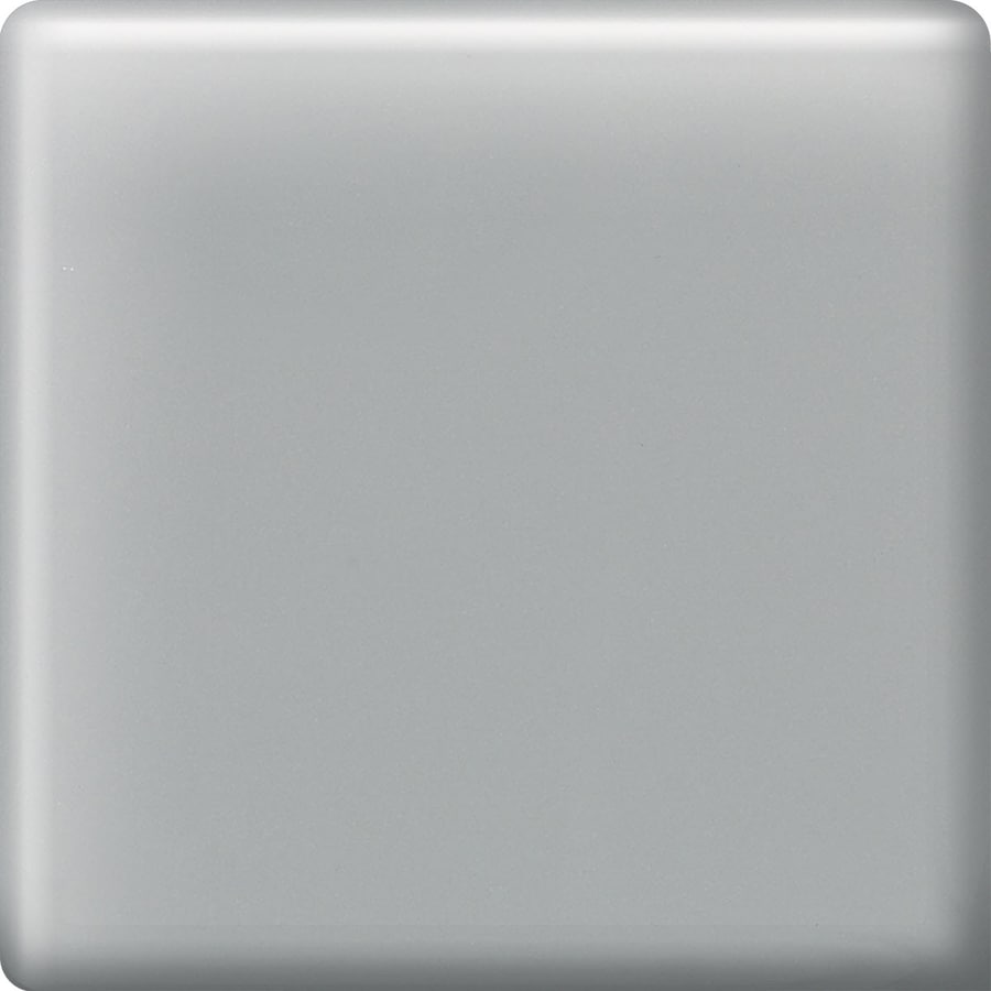 American Olean Matte Light Smoke Ceramic Bullnose Corner Tile (Common: 2-in x 2-in; Actual: 2-in x 2-in)