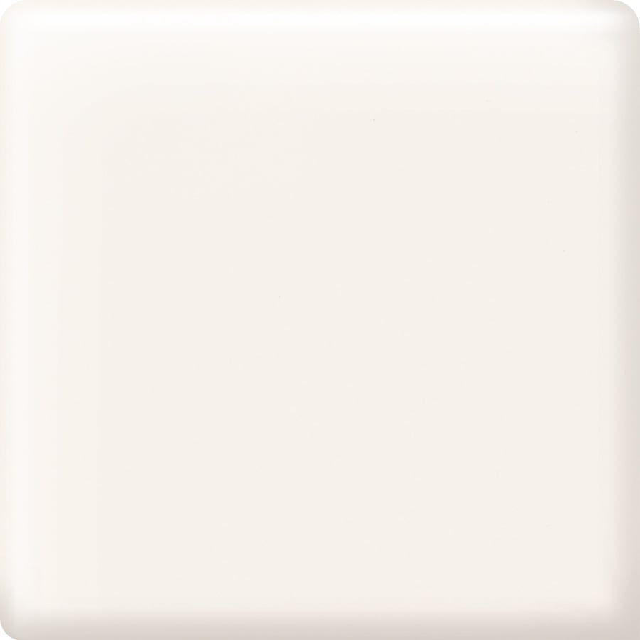 American Olean Bright White Ceramic Mud Cap Corner Tile (Common: 2-in x 2-in; Actual: 2-in x 2-in)