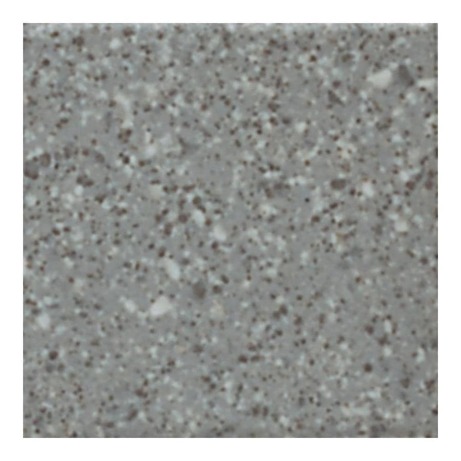 American Olean Unglazed Porcelain Mosaics 15-Pack Storm Gray Speckled Uniform Squares Mosaic Thru Body Porcelain Floor and Wall Tile (Common: 12-in x 24-in; Actual: 11.93-in x 23.93-in)