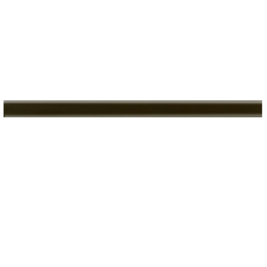 Shop American Olean Linea Nutmeg Ceramic Pencil Liner Tile (Common: 1-1/2-in x 12-in; Actual: 0 ...