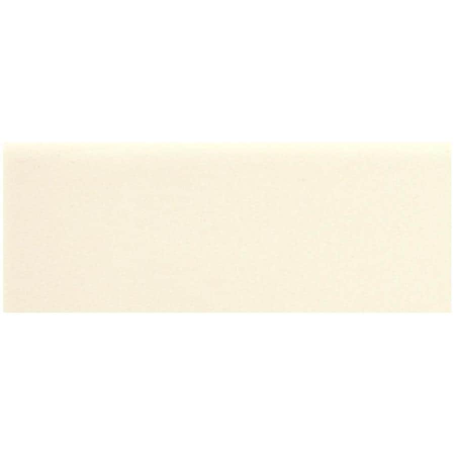 American Olean Urban Canvas 28-Pack Gloss Biscuit Ceramic Wall Tile (Common: 4-in x 12-in; Actual: 4.25-in x 12.75-in)
