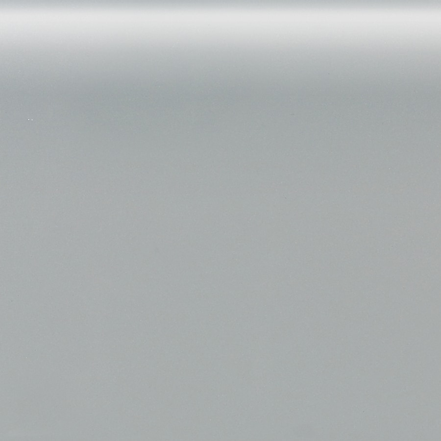 American Olean Matte Light Smoke Ceramic Mud Cap Tile (Common: 6-in x 6-in; Actual: 6-in x 6-in)