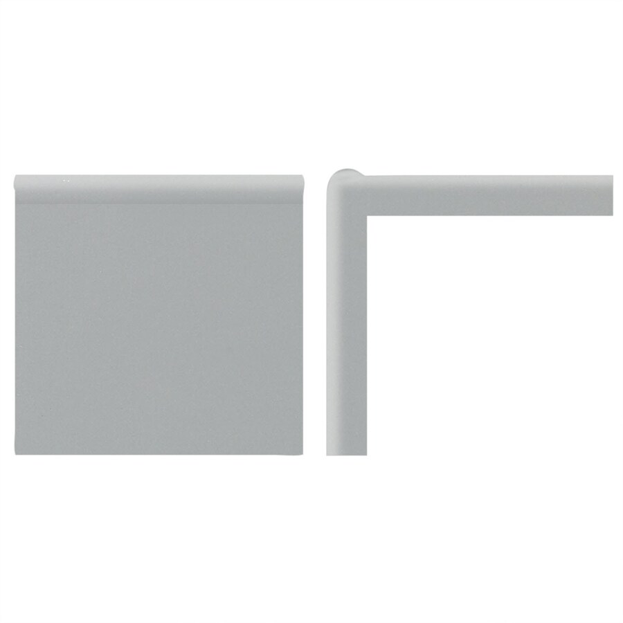 American Olean Matte Light Smoke Ceramic Mud Cap Tile (Common: 2-in x 6-in; Actual: 2-in x 6-in)