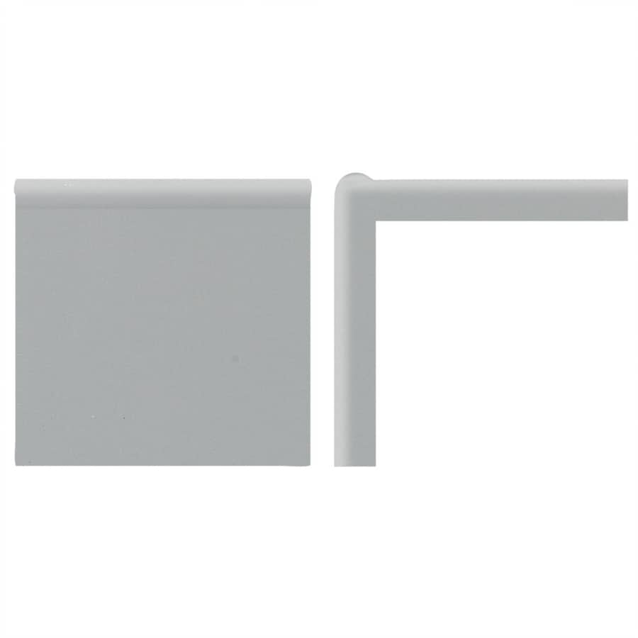 American Olean Bright Light Smoke Ceramic Mud Cap Tile (Common: 2-in x 6-in; Actual: 2-in x 6-in)
