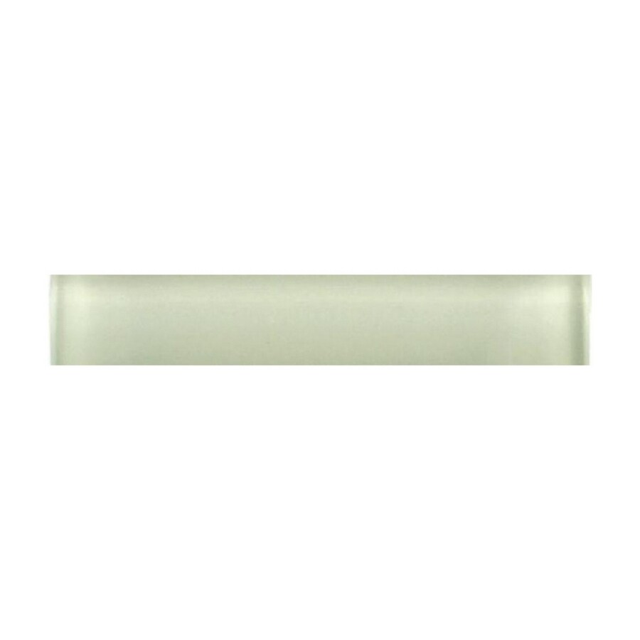 American Olean 1/2-in x 6-in Delfino Sea Glass Tile Liner