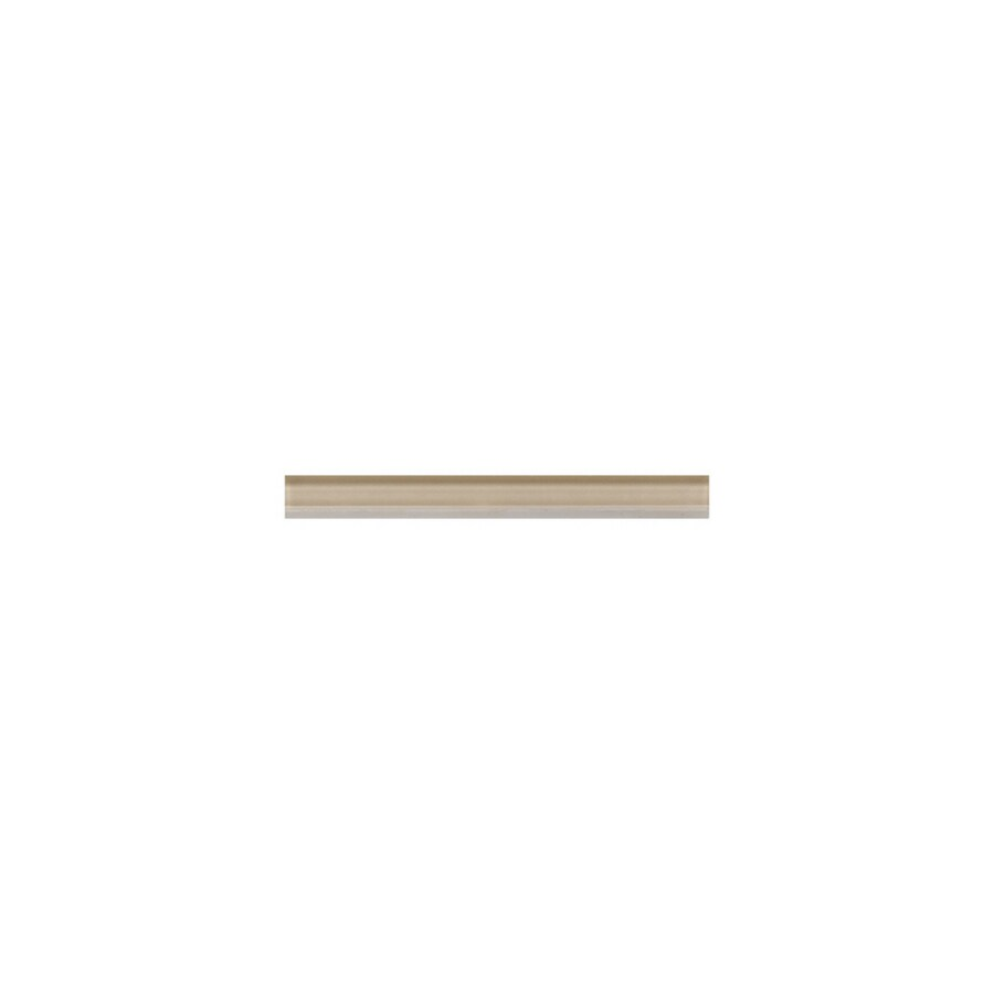 American Olean Delfino Sand Glass Tile Liner (Common: 1/2-in x 6-in; Actual: 0.5-in x 6-in)