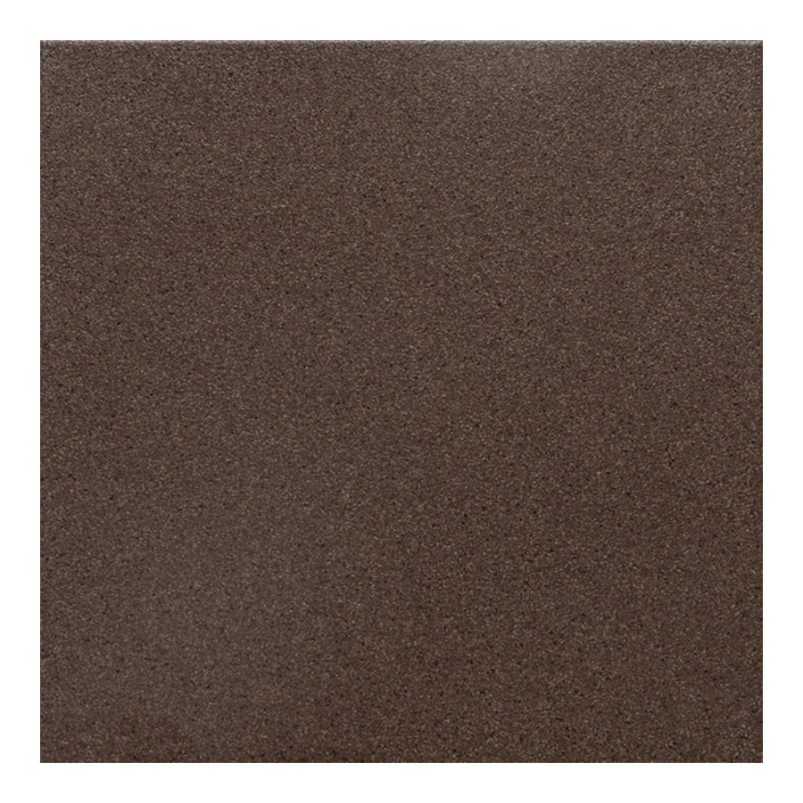 American Olean 44-Pack Urban Tones Nutmeg Salt & Pepper Glazed Porcelain Floor Tile (Common: 6-in x 6-in; Actual: 5.81-in x 5.81-in)