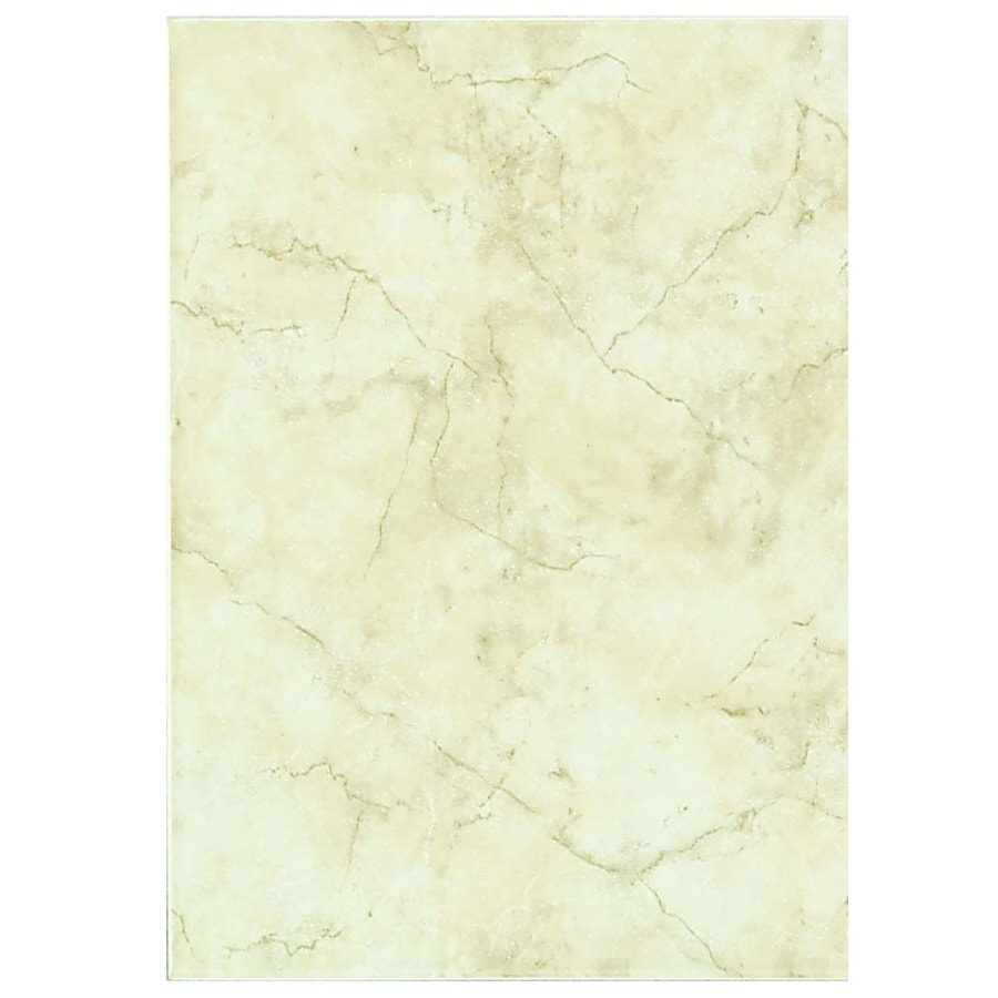 Shop Style Selections Lantana Cream Ceramic Wall Tile Common 9 In