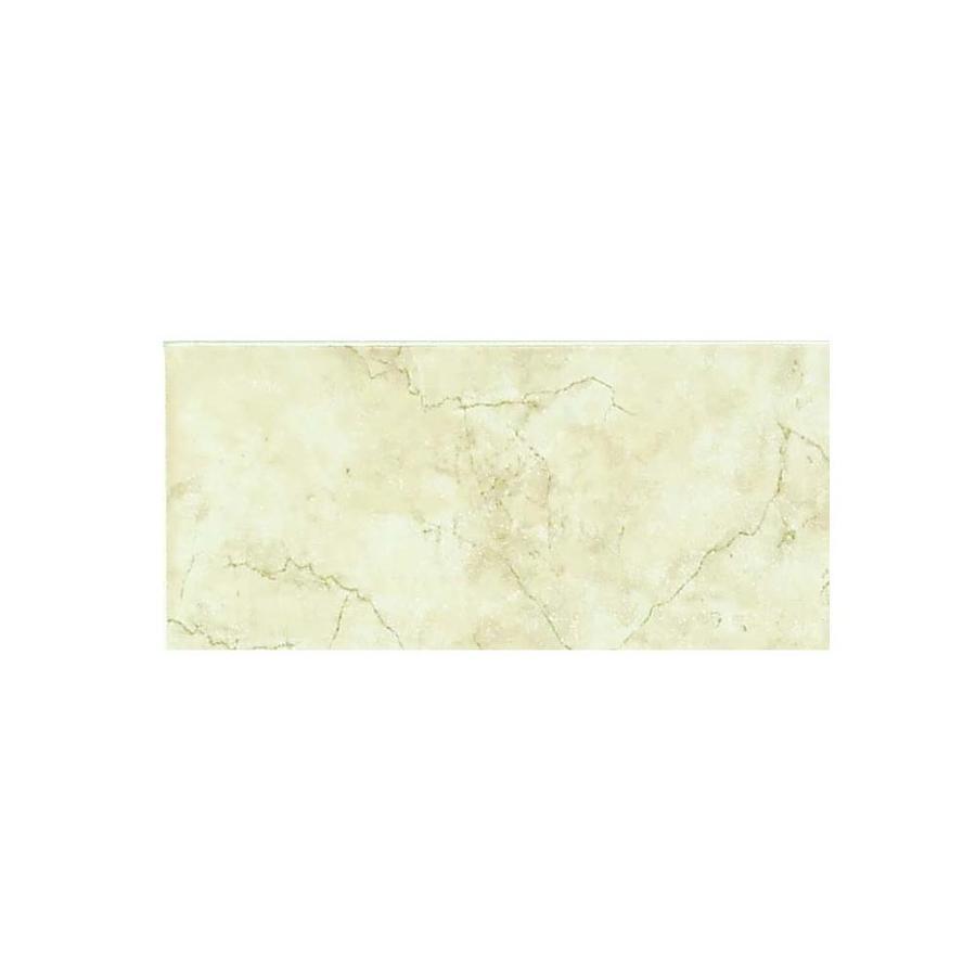 Style Selections Lantana Cream Ceramic Bullnose Tile (Common: 3-in x 9-in; Actual: 3-in x 9-in)