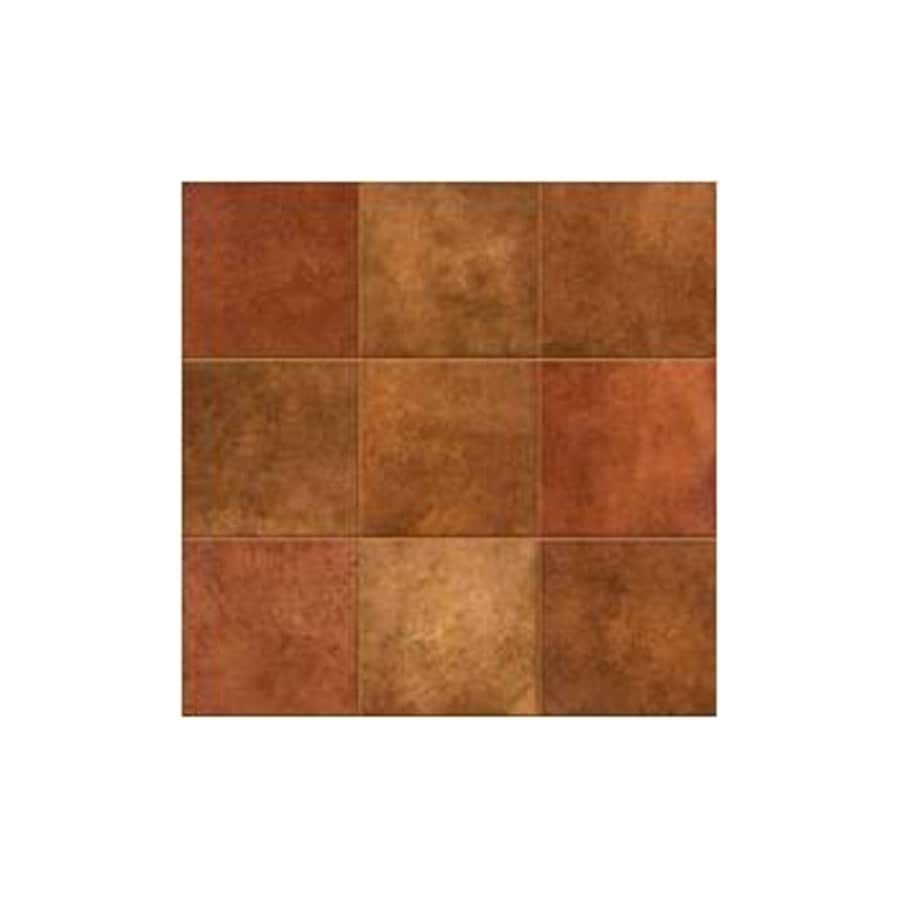 American Olean 18-in x 18-in Leather Stone Grand Canyon Ceramic Floor Tile (Actuals 18-in x 18-in)