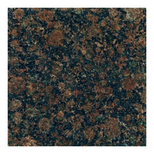American Olean 10 Pack Baltic Brown Polished Granite Floor