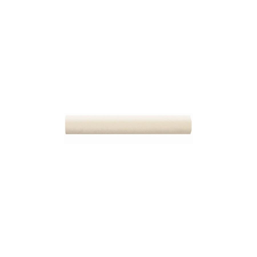 American Olean Bright Almond Ceramic Quarter Round Tile (Common: 1-in x 6-in; Actual: 1-in x 6-in)