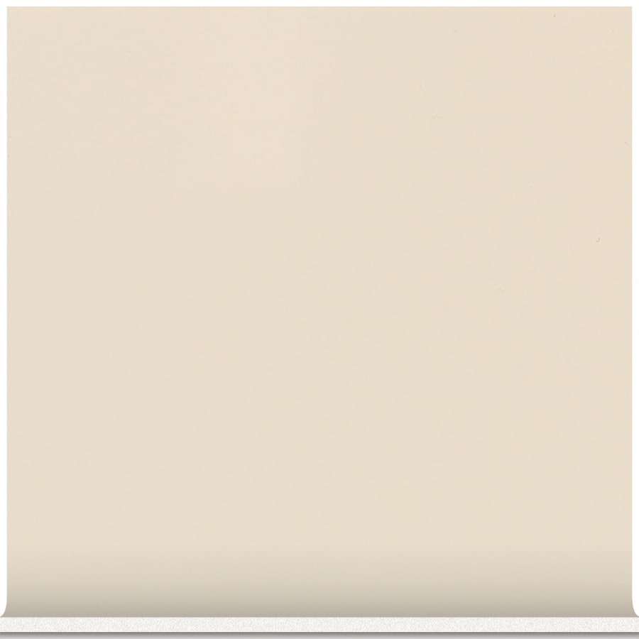 American Olean Bright Almond Ceramic Cove Base Tile (Common: 6-in x 6-in; Actual: 6-in x 6-in)
