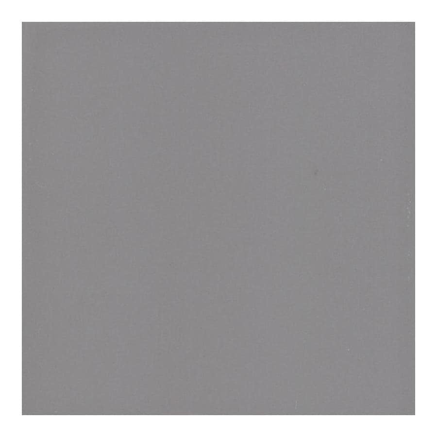 American Olean Bright Storm Gray Gloss Ceramic Bullnose Corner Tile (Common: 6-in x 6-in; Actual: 6-in x 6-in)