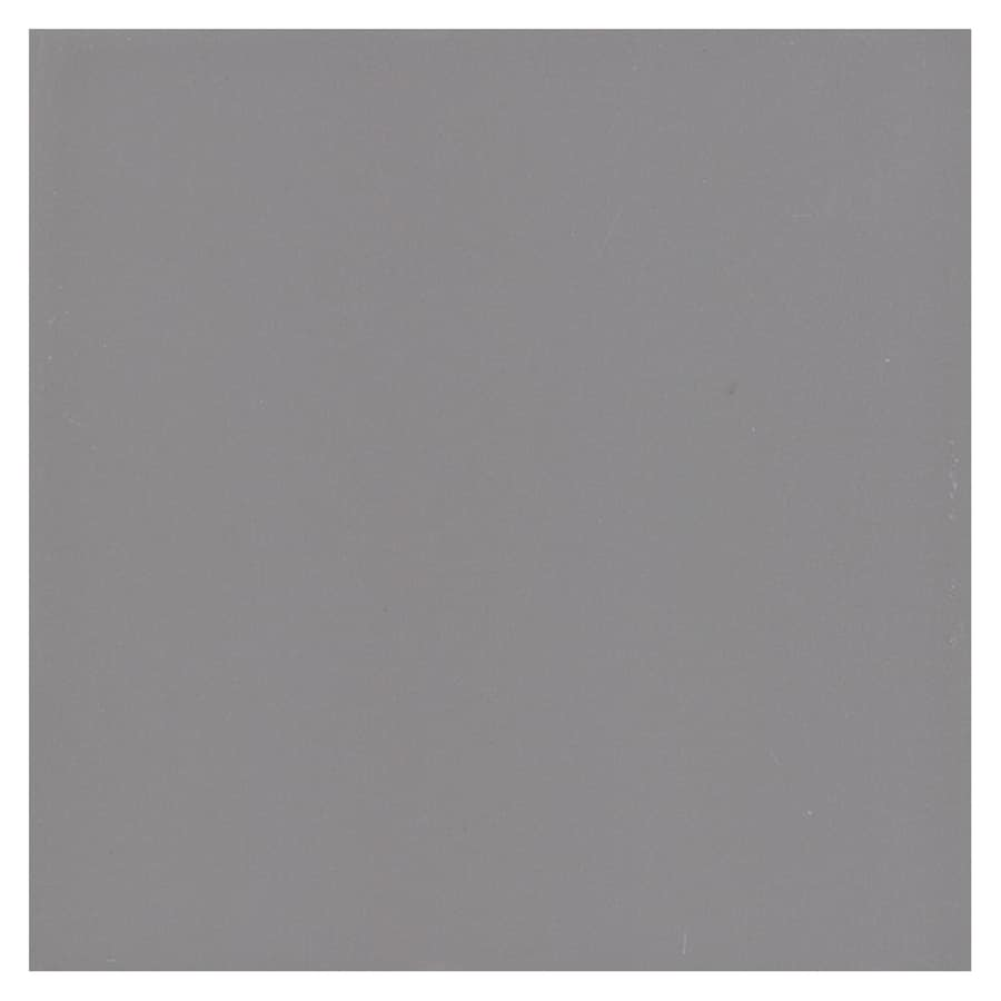 American Olean Bright 50-Pack Storm Gray Ceramic Wall Tile (Common: 6-in x 6-in; Actual: 6-in x 6-in)