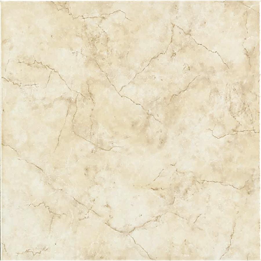 American Olean Lowes American Olean Starting Line White Gloss - American olean bellaire earth beige ceramic floor tile