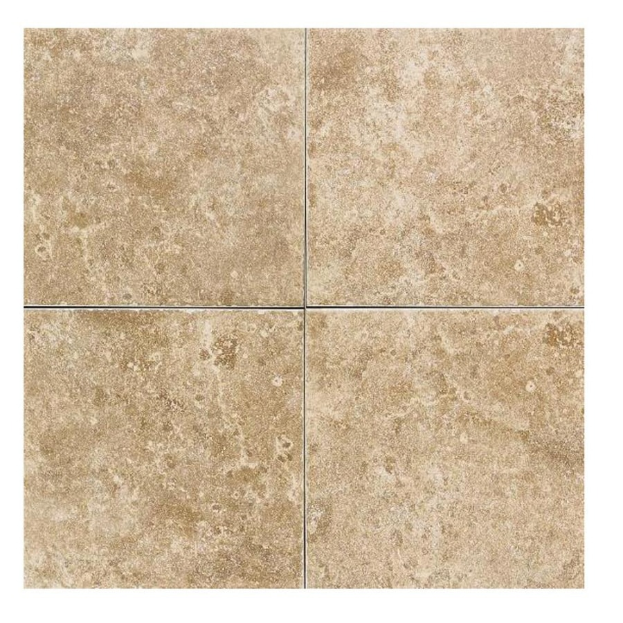 Shop american olean 11 pack carriage house saddle ceramic floor tile american olean 11 pack carriage house saddle ceramic floor tile common 12 dailygadgetfo Images