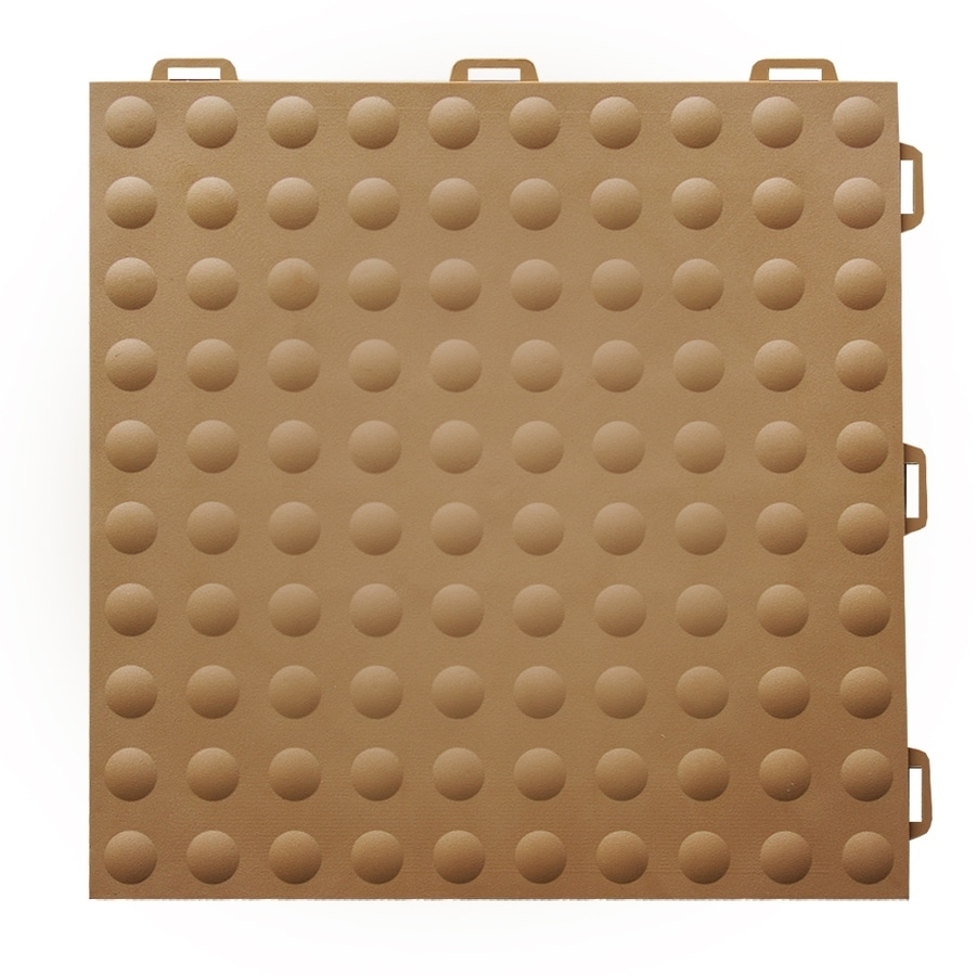 Shop Greatmats Staylock 26 Pack 12 In X 12 In Brown Loose