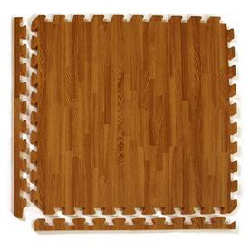 Greatmats 25 Pack 24 In X Dark Woodgrain Loose Lay Wood
