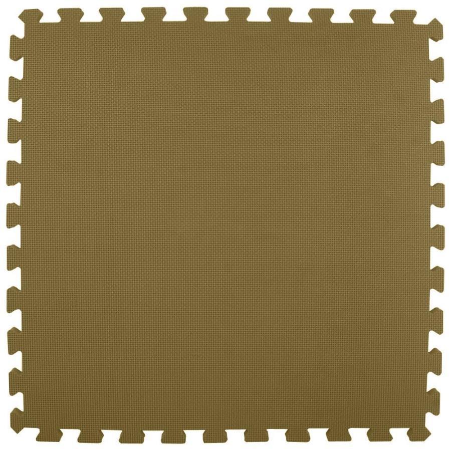 Greatmats 25-Pack 24-in x 24-in Brown Loose Lay Foam Tile Multipurpose Flooring