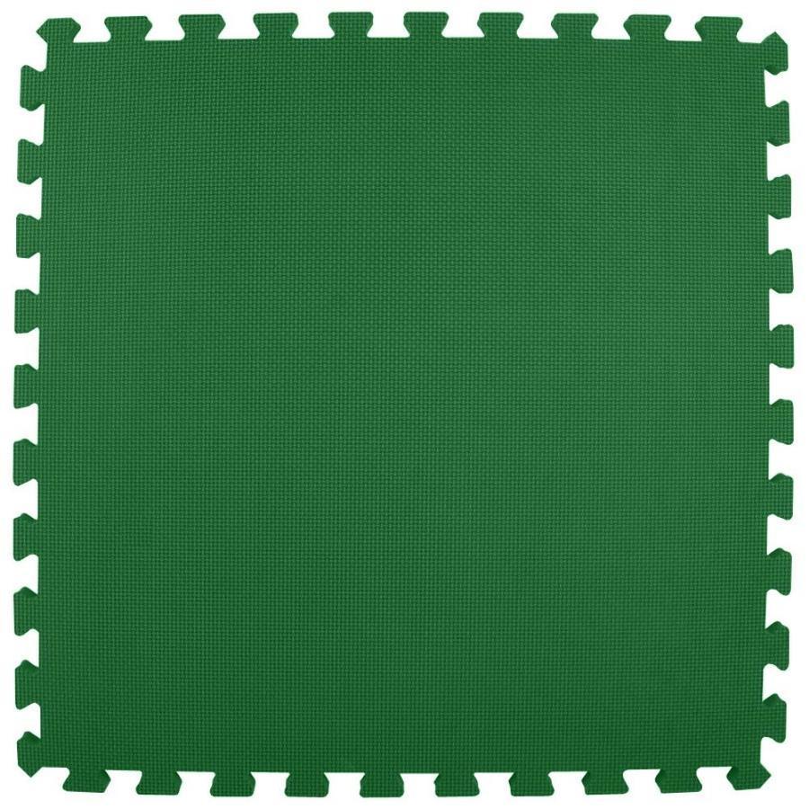 Greatmats 25-Pack 24-in x 24-in Green Loose Lay Foam Tile Multipurpose Flooring