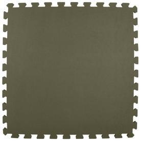 Greatmats 25 Pack 24 In X Gray Loose Lay Foam Tile