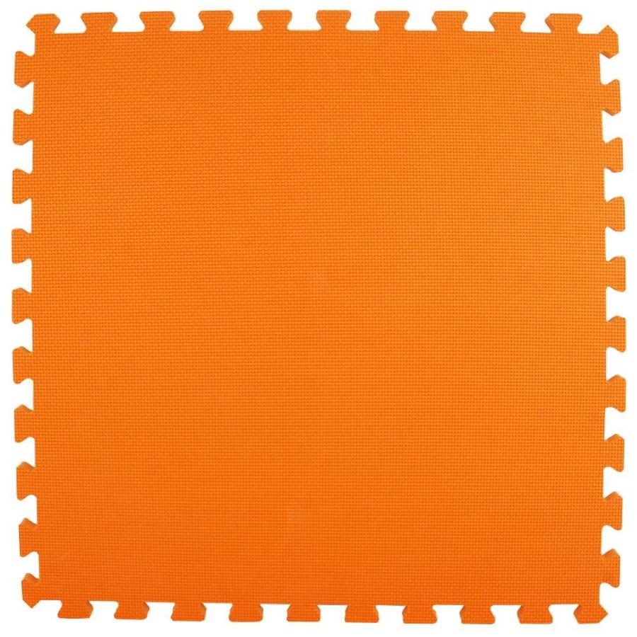 Greatmats 25-Pack 24-in x 24-in Orange Loose Lay Foam Tile Multipurpose Flooring