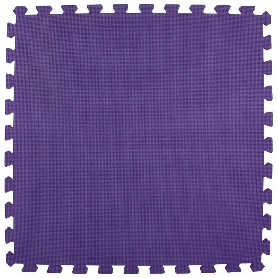 Greatmats 25-Pack 24-in x 24-in Purple Loose Lay Foam Tile Multipurpose Flooring