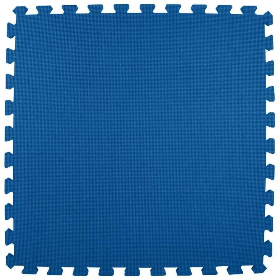 Greatmats 25-Pack 24-in x 24-in Royal Blue Loose Lay Foam Tile Multipurpose Flooring