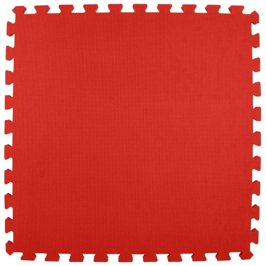Greatmats 25-Pack 24-in x 24-in Red Loose Lay Foam Tile Multipurpose Flooring