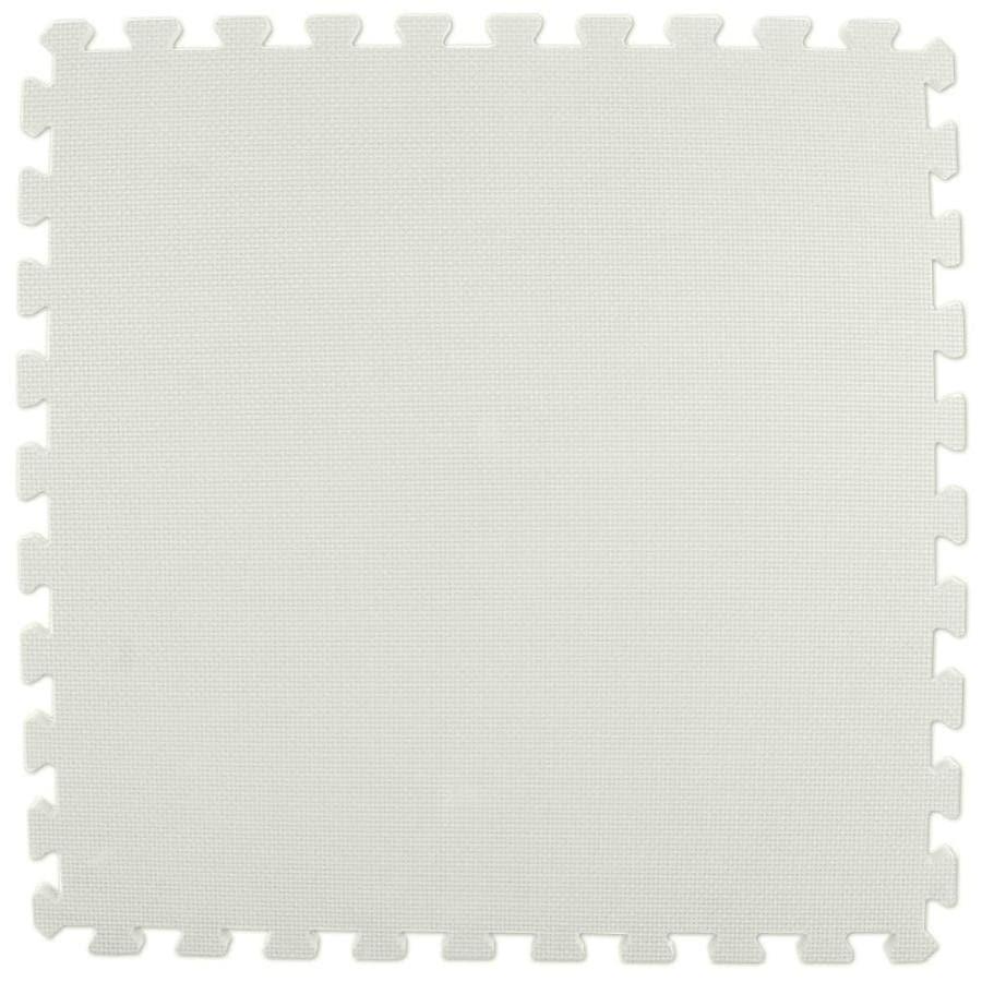 Greatmats 25-Pack 24-in x 24-in White Loose Lay Foam Tile Multipurpose Flooring