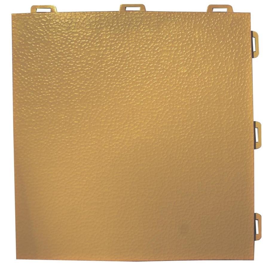 Greatmats StayLock 26-Pack 12-in x 12-in Brown Loose Lay PVC Plastic Tile Multipurpose Flooring