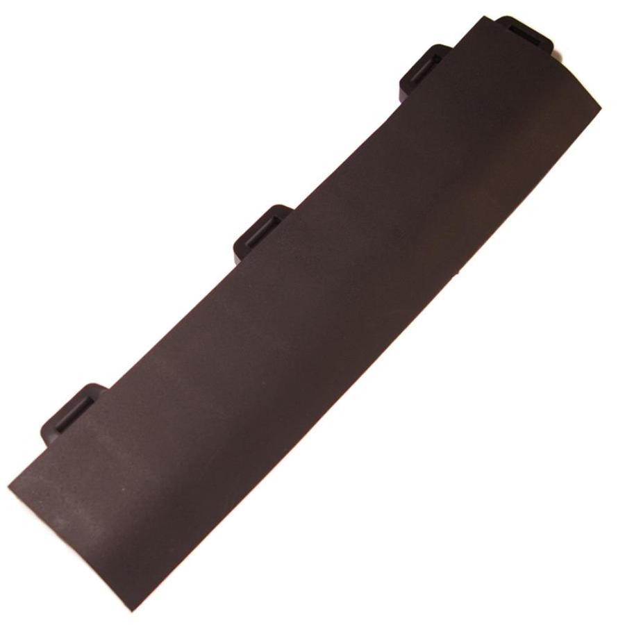 Greatmats StayLock 4-Pack 2.6-in x 12-in Black Loose Lay PVC Plastic Tile Multipurpose Flooring