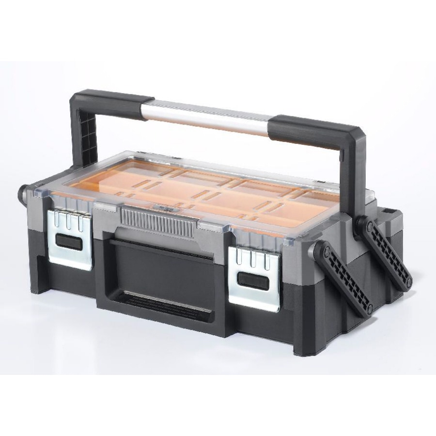 Keter 9.40-in Multiple Colors/Finishes Resin Tool Box