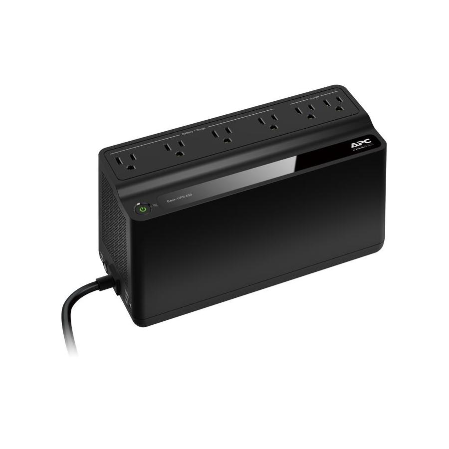 APC 6-Outlet 180 Joules Surge Protector with Battery Backup at Lowes com