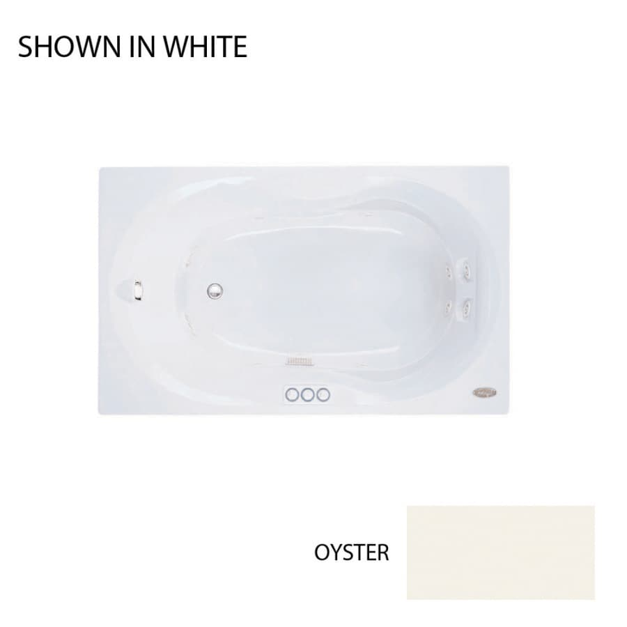 Jacuzzi 60-in Acrylic Whirlpool Tub