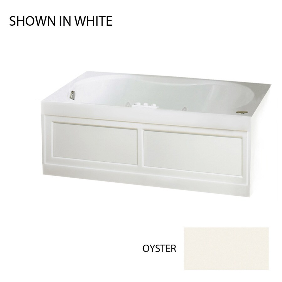 Jacuzzi 60-in Acrylic Whirlpool Tub with Drain