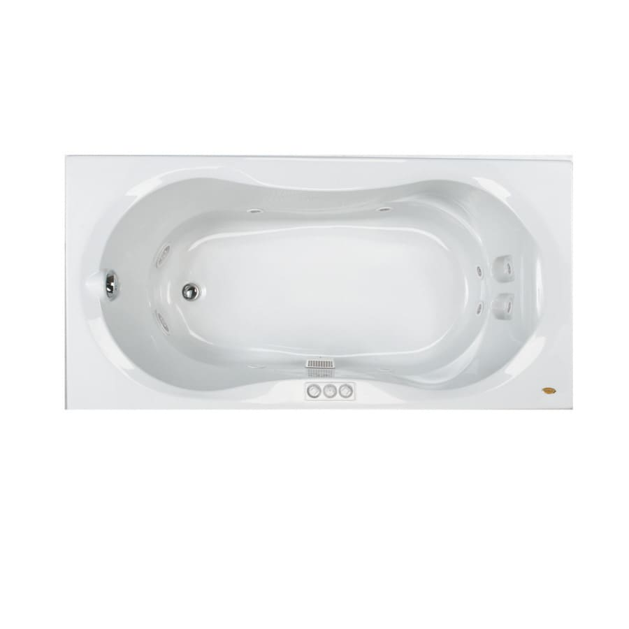 Jacuzzi 72-in Acrylic Whirlpool Tub