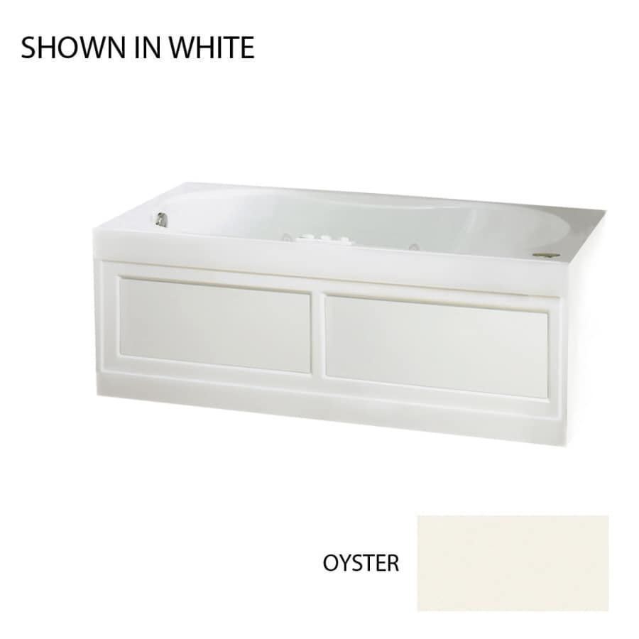 Jacuzzi Acrylic Hourglass Whirlpool Tub (Common: 32-in x 60-in; Actual: 22-in x 32-in x 60-in)