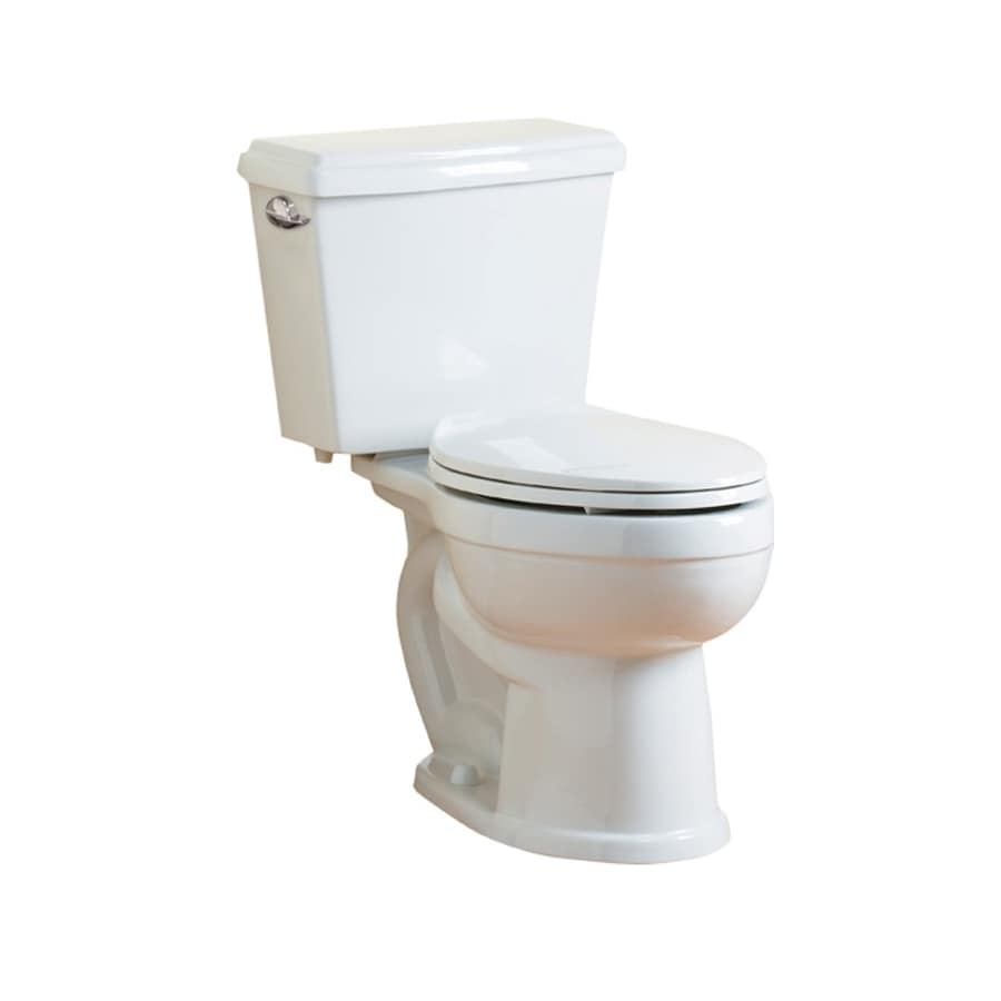 Jacuzzi Maxima White Chair Height 2 Piece Toilet 12 In